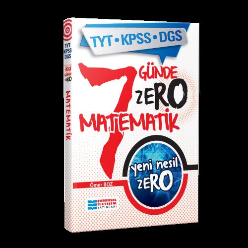 TYT-KPSS-DGS Yeni Nesil ZERO Matematik