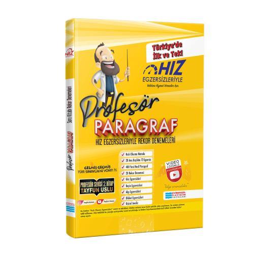 Profesör Paragraf - Hız Egzersizleriyle Rekor Denemeler (Video Çözümlü